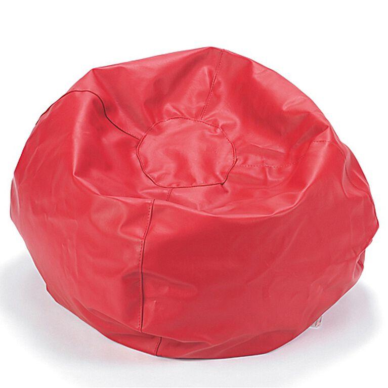 Comfy Kids - Fauteuil-sac Comfy - Vinyle Rouge