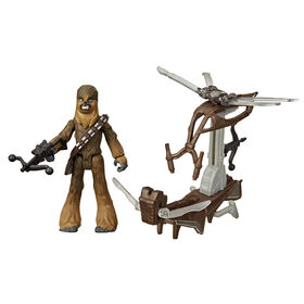 Star Wars Mission Fleet Gear Class Chewbacca Beachfront Barrage 2.5-Inch-Scale Figure and Vehicle