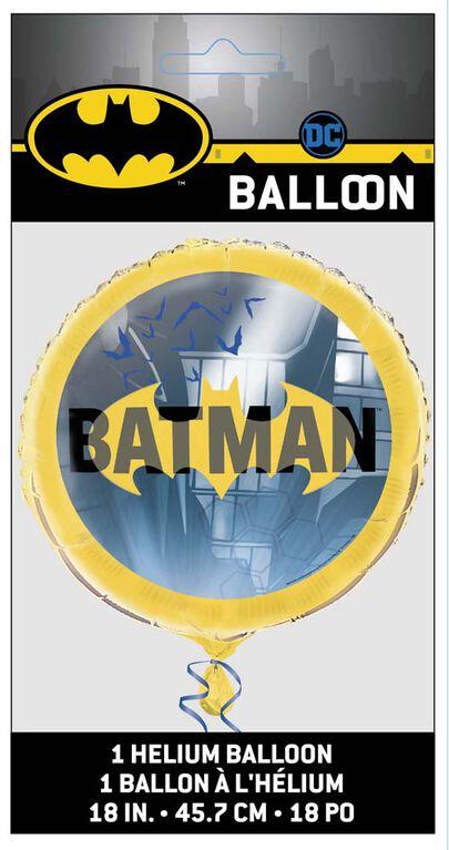 """Batman Round Foil 18"""""""