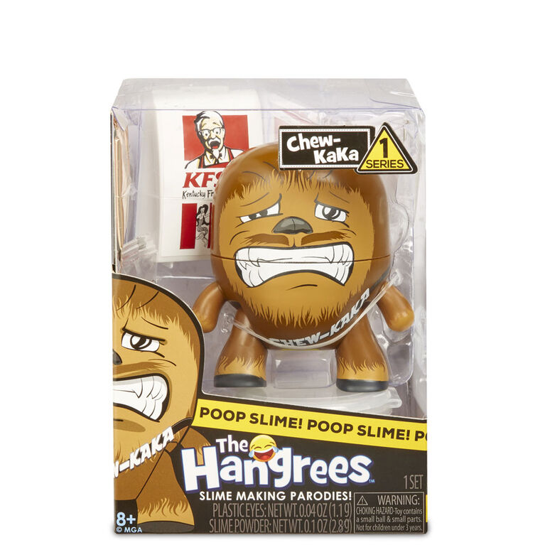 The Hangrees Chew-KaKa Collectible Parody Figure with Slime