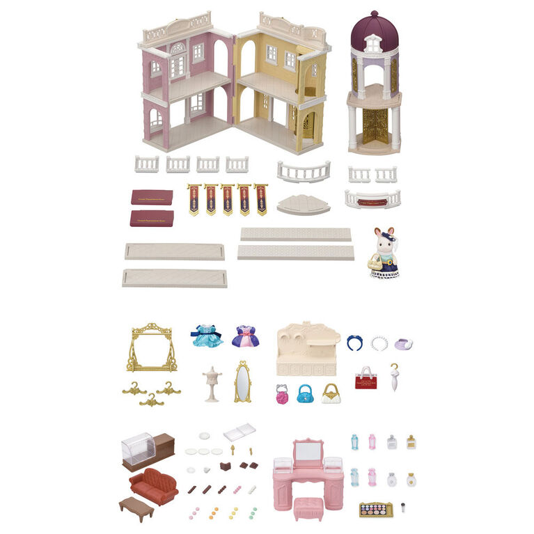 Calico Critters - Grand Department Store Gift Set