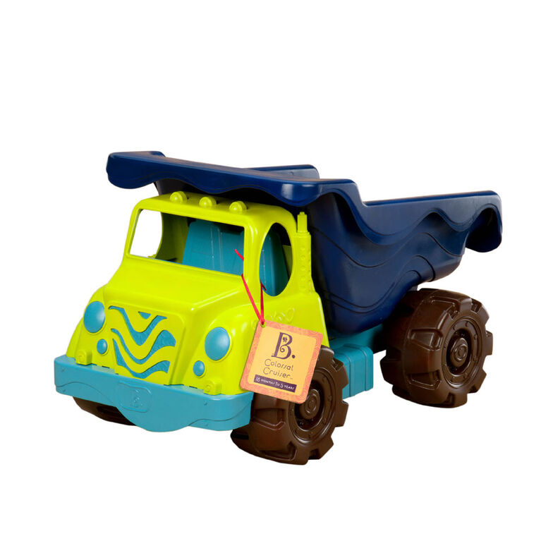 "B. Toys Colossal Cruiser 20"" Dump Truck"