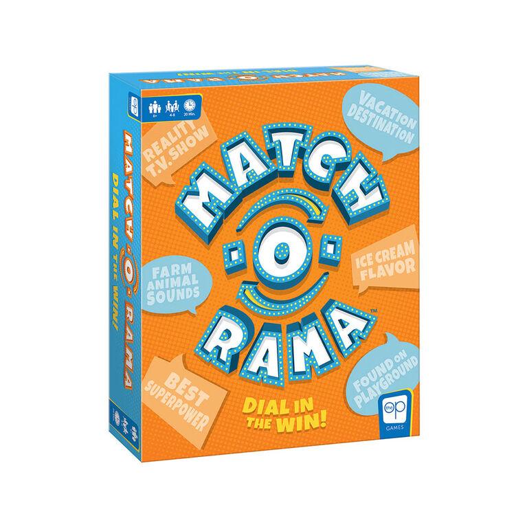 Match-O-Rama Board Game - English Edition