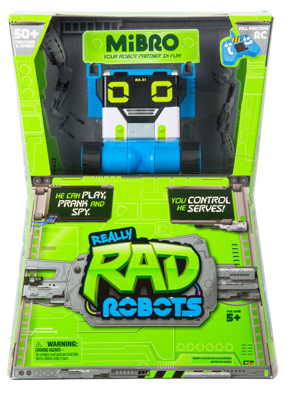 Red Planet Real Rad Robots R/C Robot - English Edition
