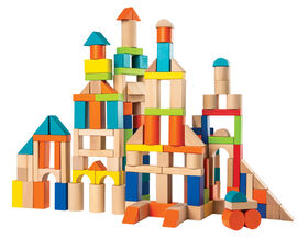 Imaginarium Discovery - Wooden Blocks 150 Pieces