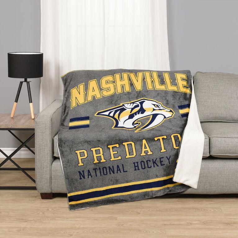 NHL Team Throw - Nashville Predators