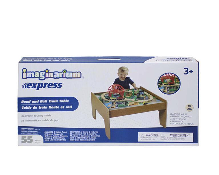 Imaginarium Express - Table de train Route et rail