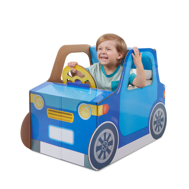 Pop2Play Toddler Car by WowWee - Indoor Pretend Play