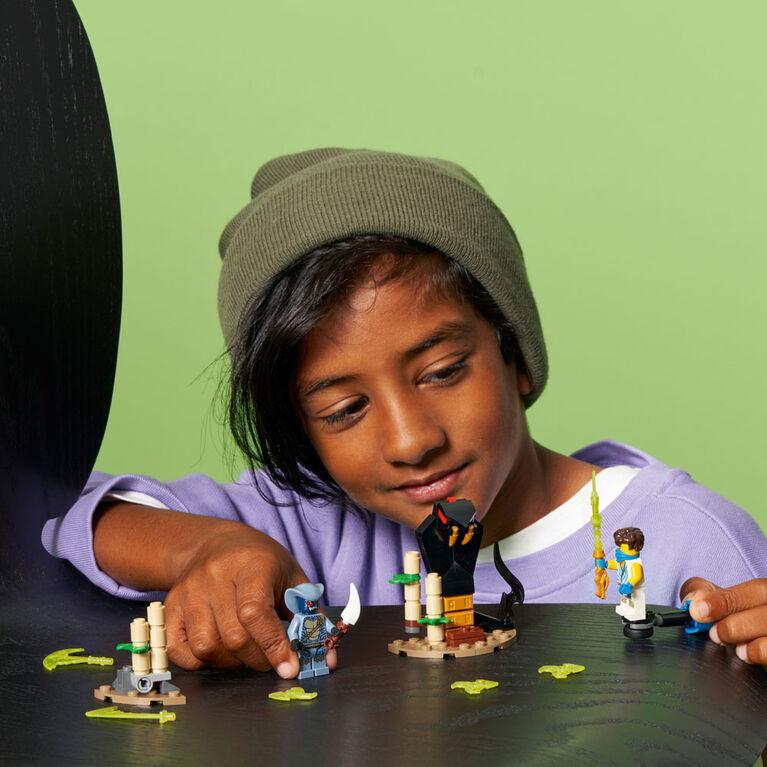 LEGO Ninjago Epic Battle Set - Jay vs. Serpentine 71732