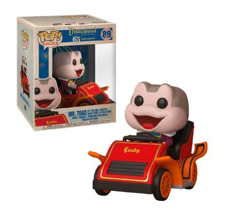 Funko POP! Rides Disney: Disneyland 65th - Mr. Toad at the Mr. Toad's Wild Ride Attraction