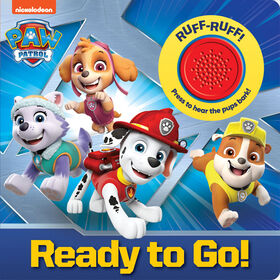 1 Button Sound Book Paw Patrol Ready To Go! - English Edition