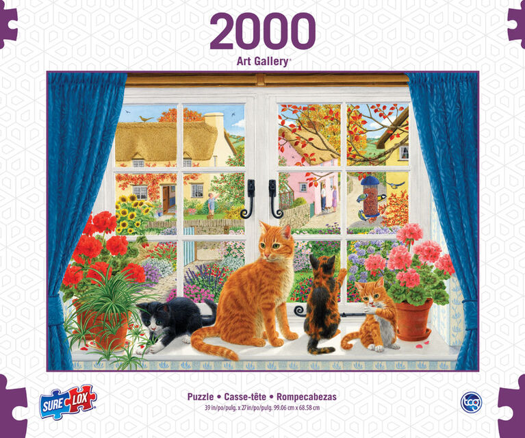 Sure-Lox Art Gallery Assorted 2000 Piece Puzzles