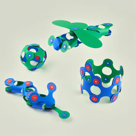Clixo Itsy Pack - Blue/Green - English Edition