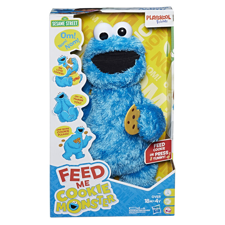 Playskool Friends Sesame Street Feed Me Cookie Monster - English Edition