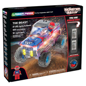 Collection Rallye Monster de Laser Pegs - The Beast