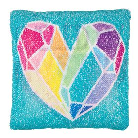 Style Lab Magic Sequin Pillow: Fuled By Crystal