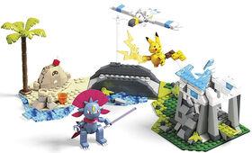 Mega Construx - Pokémon - Combat Plage et Neige