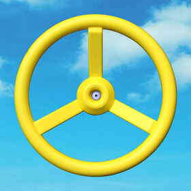 Big Backyard - Steering Wheel - Yellow