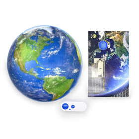 Uncle Milton Earth in My Room Remote Control Wall Décor Night Light