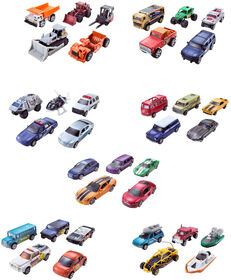 Matchbox Vehicles 5 Pack - Styles May Vary