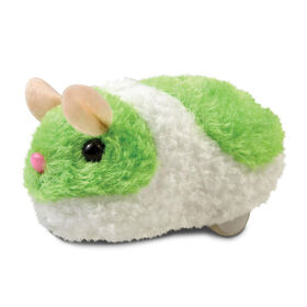 Pitter Patter Pets Busy Little Hamster Neon - Green - English Edition