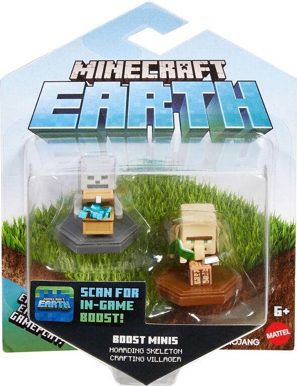 Minecraft - Boost - Mini-figurines - Coffret de 2 - Édition anglaise - Notre exclusivité