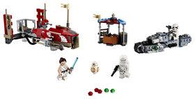 LEGO Star Wars  La course-poursuite en speeder sur Pasaa 75250