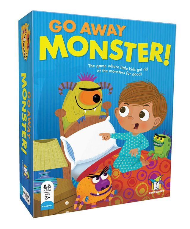 Gamewright - Go Away Monster! Game