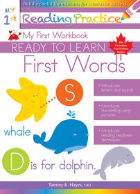 My First Words Workbook - Édition anglaise
