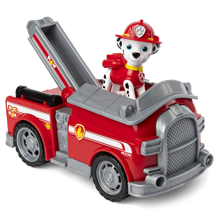 PAW Patrol, Marshall's Fire Engine Vehicle with Collectible Figure  051947
