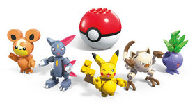 Mega Construx - Pokemon Poke Ball 5-Pack Bundle