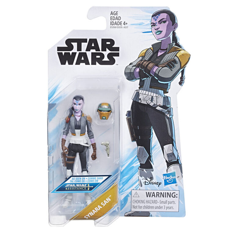 Star Wars Star Wars: Resistance Animated Series 3.75-inch Synara San Figure