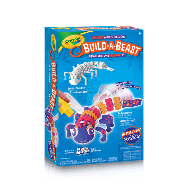 Ensemble Crayola Build-A-Beast Libellulle