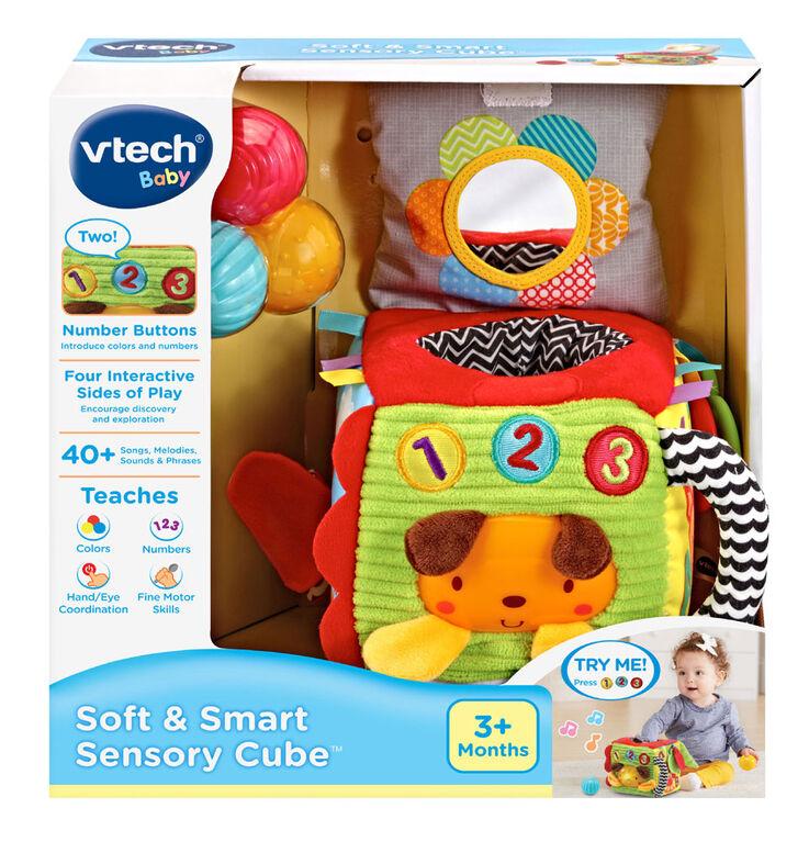VTech Cube interactif Éveil sensoriel -  Édition anglaise