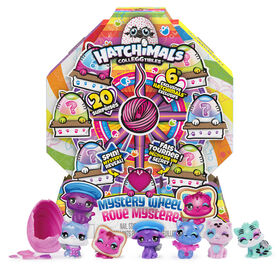 Hatchimals CollEGGtibles, Mystery Wheel with 20 Surprises to Unbox (Style May Vary)