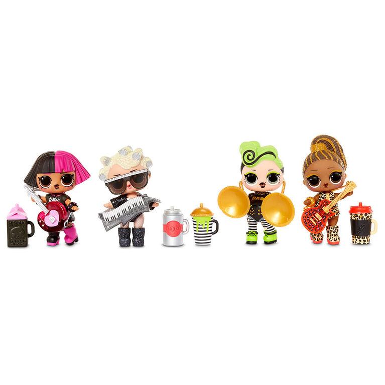 Super surprise L.O.L. Surprise! O.M.G. Remix : 70+ surprises incluant 4 poupées-mannequins et 4 poupées