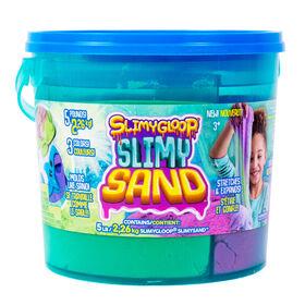 Blue, Green & Orange Slimygloop Slimysand5 Lb. Bucket
