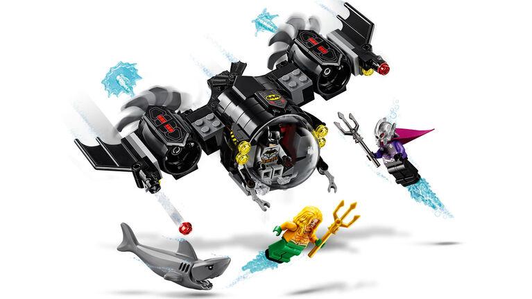 LEGO Super Heroes Le Bat-sous-marin de Batman et le combat sous l'eau 76116
