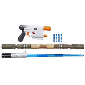 Star Wars Nerf - Ensemble de mission de Rey (base Starkiller). - Notre Exclusivité