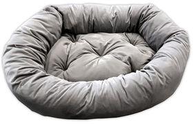 "Light Grey 34X24X8"" Donut Bed"