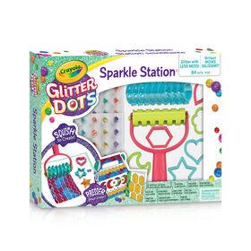 Station scintillante Crayola Glitter Dots