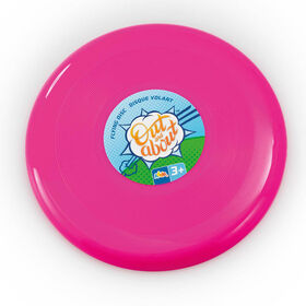 """Out and About 10"""" Flying Disc Pink - R Exclusive - English Edition"""