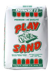 Sable de qualité pour aires de jeux 25kg.