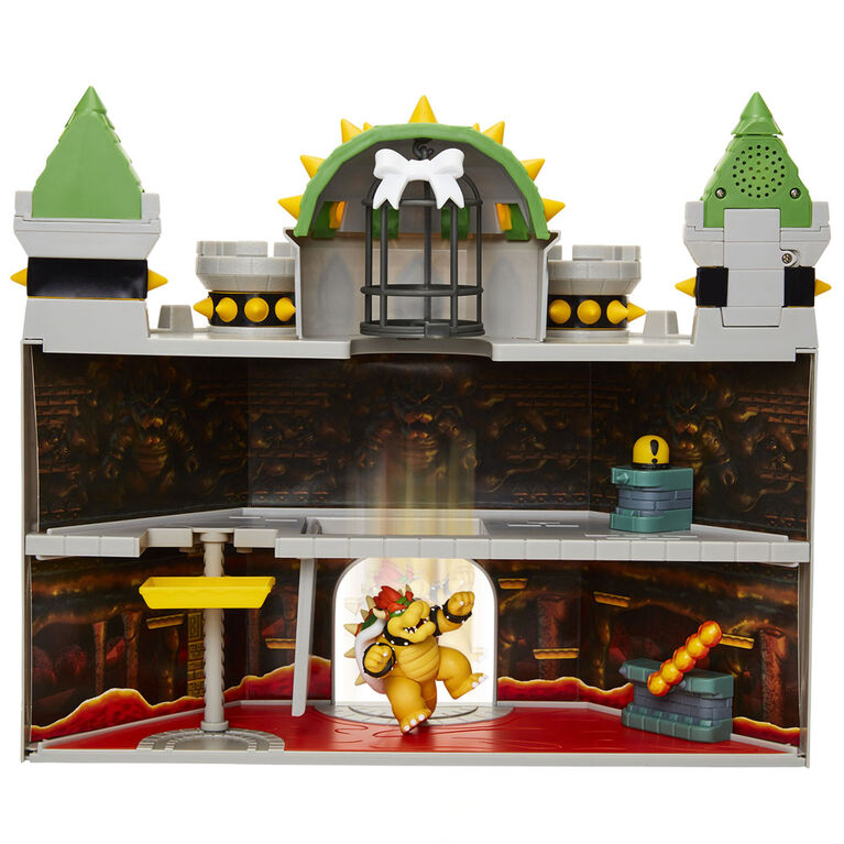 "Nintendo 2.5"" Bowser Castle Playset"