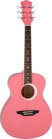 Aurora Borealis 3/4 Guitar - Pink