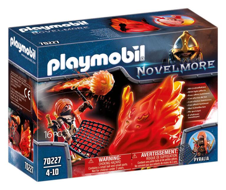 Burnham Raider et fantôme du Feu  - Playmobil
