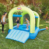 Little Tikes Splash 'n Spray indoor/outdoor 2-in-1 Wet or Dry Inflatable Bounce House for Kids