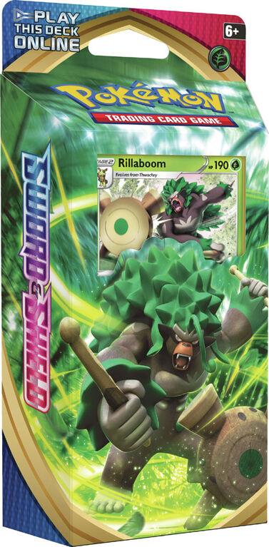 Pokemon Sword & Shield Theme Deck - Rillaboom