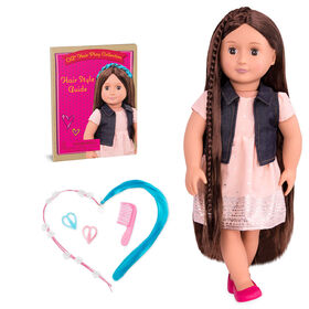 "Our Generation, Kaelyn ""From Hair To There"", 18-inch Hair Play Doll"
