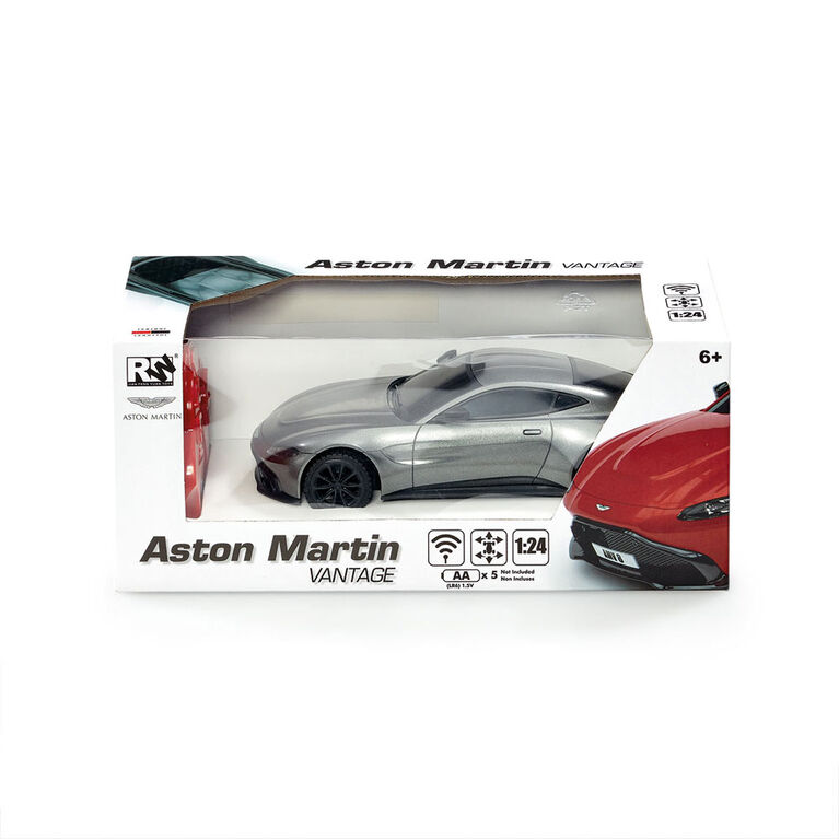 RC 1:24 Scale Aston Martin Vantage - R Exclusive - Colours and styles may vary - - one per purchase
